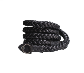 Braided 105cm Black