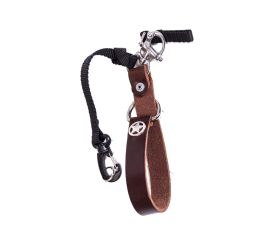 Camera Leash Water Buffalo Burgundy