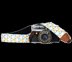 Triangle   Camera Strap Multi Color