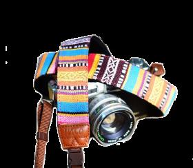 Native Village   Camera Strap