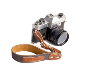 Canvas Wrist Strap Smoke