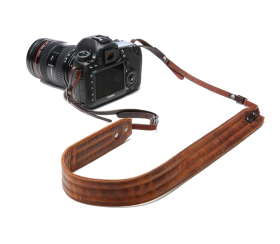 Presidio | Leather Camera Strap Cognac