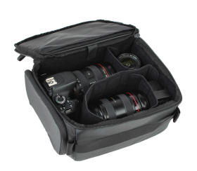 Hexad 45L Duffel Bag | Camera Backpack Black