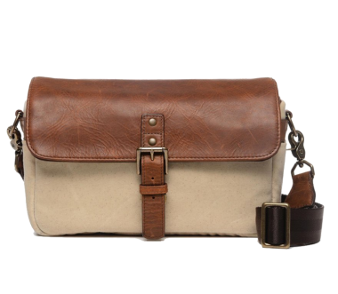 Bowery 50/50 Camera Bag Cognac