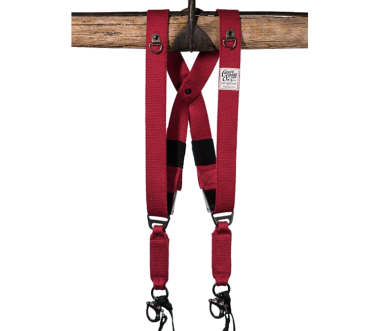 Swagg   Vegan Camera Harness Red