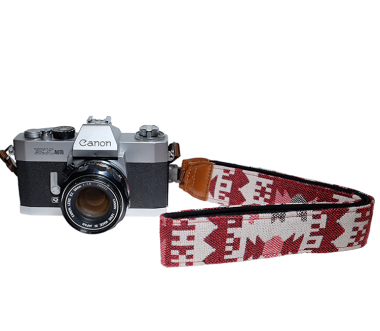 Red House | Camera Strap Red