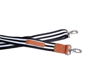 Bag Strap | Stripes + Silver Stripes