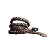 Braided - Leather Camera Strap Brown