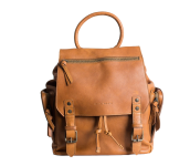 Kelly | Camera Backpack Cognac