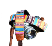 Native Village | Camera Strap Multi color