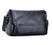Abby | Compact Camera Bag Black
