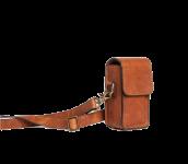 The Lisbon | Small Camera Bag Cognac