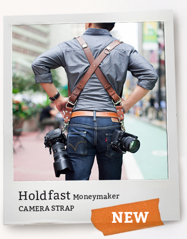 Holdfast Moneymaker Camera Harness, Camera Strap Leather
