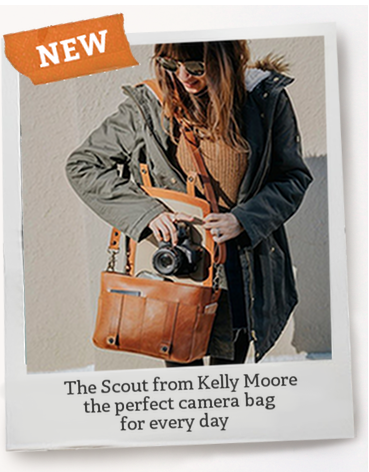 Kelly Moore Scout Leather camera bag